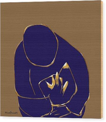 Good Read Wood Print by Asok Mukhopadhyay