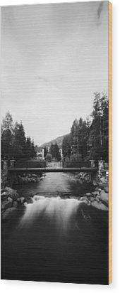 Gore Creek Vail Wood Print
