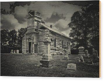 Gospel Center Church II Wood Print by Tom Mc Nemar