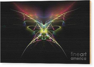 Gossamer Wings Wood Print by Greg Moores