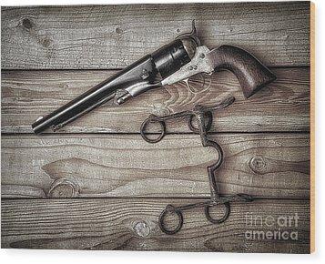 Got To Trust Them  ... Wood Print
