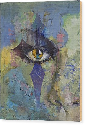 Gothic Art Wood Print by Michael Creese