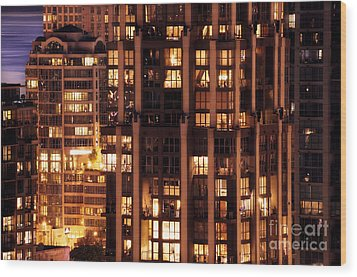 Wood Print featuring the photograph Gothic Living - Yaletown Ccclxxx by Amyn Nasser