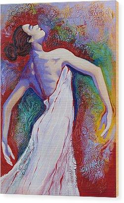 Grace Wood Print by Claudia Fuenzalida Johns
