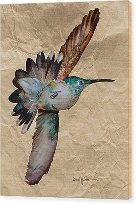 Da180 Grace Daniel Adams Wood Print