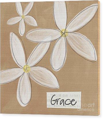 Grace Wood Print by Linda Woods