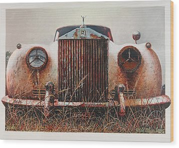 Grace - Rolls Royce Wood Print