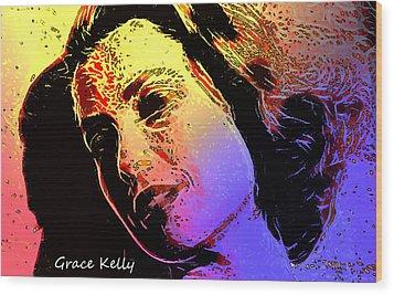 Grace Wood Print by Steve K