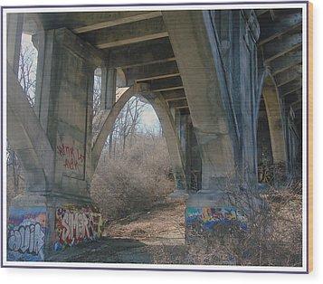 Graffiti Kansas City 9 Wood Print