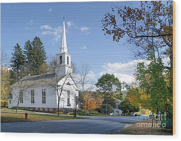 Grafton Church Wood Print