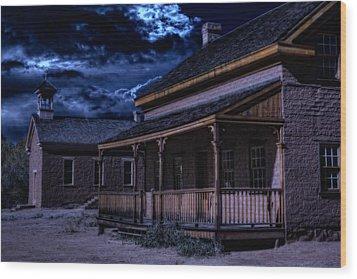 Grafton Ghost Town In Southern Utah Wood Print by Utah Images