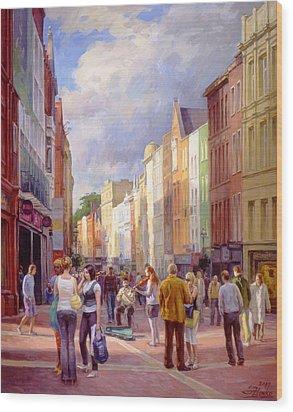 Grafton Street. Dublin Wood Print