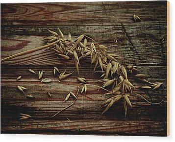 Grain Wood Print by Odd Jeppesen