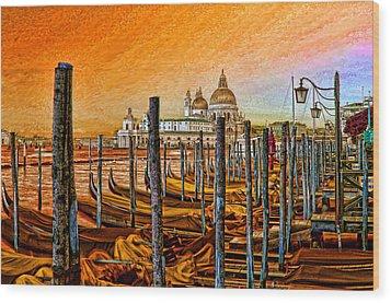 Grand Canal Venice Wood Print