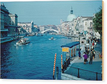 Grand Canal 1961 Wood Print by Cumberland Warden