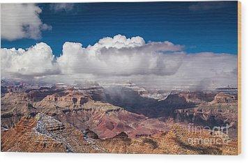 Grand Canyon Wood Print by Andreas Tauber