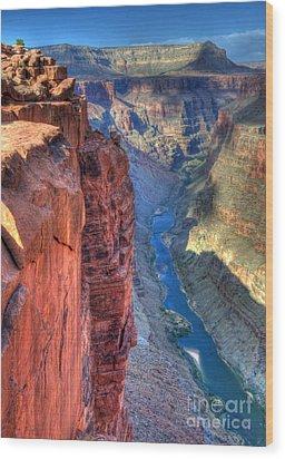 Grand Canyon Awe Inspiring Wood Print