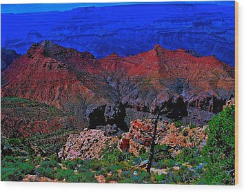 Grand Canyon Beauty Exposed Wood Print