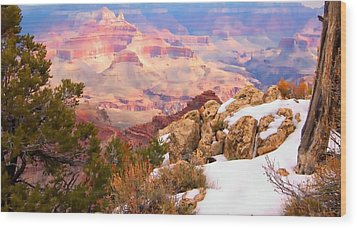 Wood Print featuring the photograph Grand Canyon by Bob Pardue