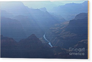 Grand Canyon Wood Print by Dipali S
