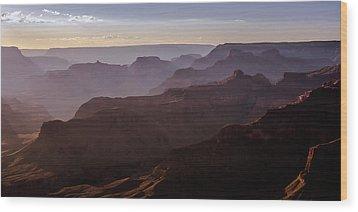 Grand Canyon Mystery Wood Print by John McArthur