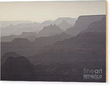 Grand Canyon No. 3 Wood Print by David Gordon