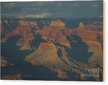 Wood Print featuring the photograph Grand Canyon by Rod Wiens