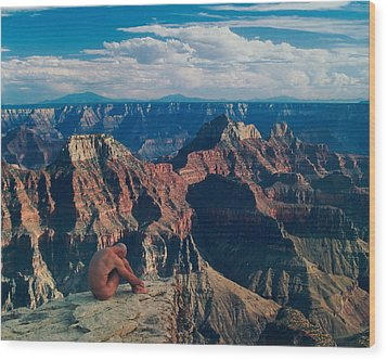 Grand Canyon Wood Print by Sean Lungmyers