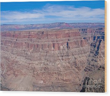 Grand Canyon Wood Print by Sophie Vigneault