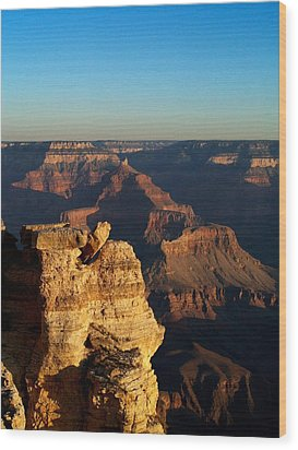 Grand Canyon Sunrise Two Wood Print by Joshua House