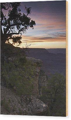 Grand Canyon Sunset 2 Wood Print