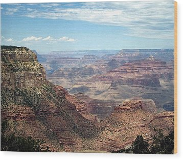 Grand Canyon View 3 Wood Print