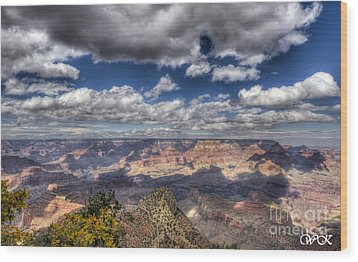 Wood Print featuring the photograph Grand Canyon by Wanda Krack
