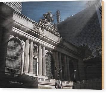 Grand Central #1 Wood Print by Aleksander Rotner