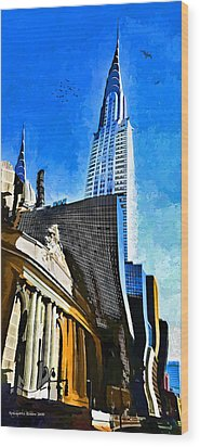 Grand Central #2 Wood Print by Aleksander Rotner
