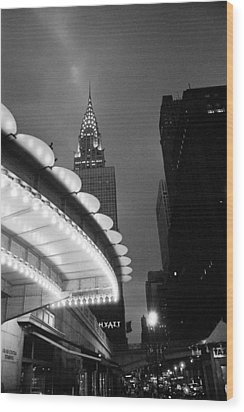 Wood Print featuring the photograph New York City -grand Central Dawn by Dave Beckerman