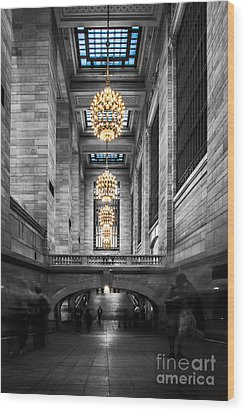 Grand Central Station IIi Ck Wood Print by Hannes Cmarits