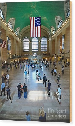 Grand Central Station New York City Wood Print by Amy Cicconi