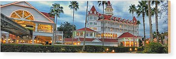 Grand Floridian Resort Walt Disney World Wood Print by Thomas Woolworth