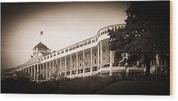 Grand Hotel Wood Print by James Howe