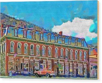 Grand Imperial Hotel Wood Print by Jeff Kolker