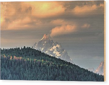 Grand Morning Wood Print by David Andersen