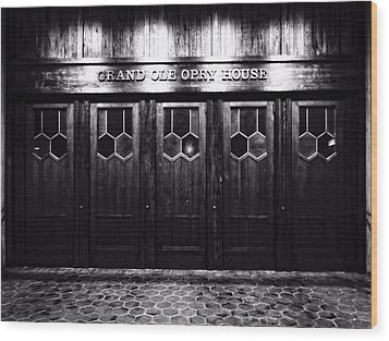 Grand Ole Opry House Wood Print by Dan Sproul