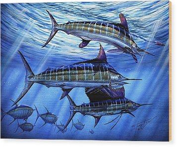 Grand Slam Lure And Tuna Wood Print
