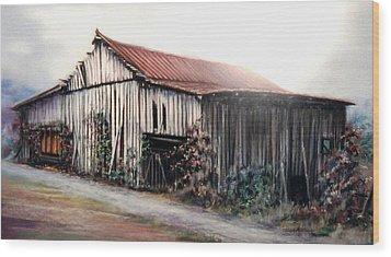 Grandaddy's Barn Wood Print
