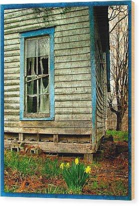 Grandma's Daffodyls Wood Print by Julie Dant