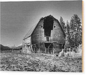 Grandpa's Barn Wood Print