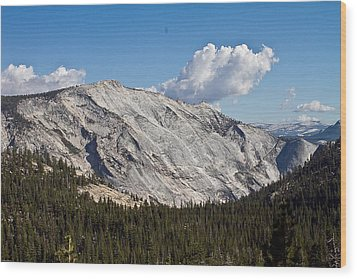 Granite Mountain Wood Print