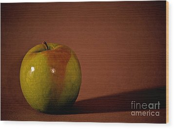 Wood Print featuring the photograph Granny Smith by Sharon Elliott