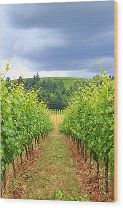 Grapes Of Wrath Wood Print